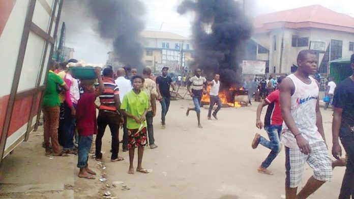 Angry Mob Set Suspected Thief Ablaze In Delta