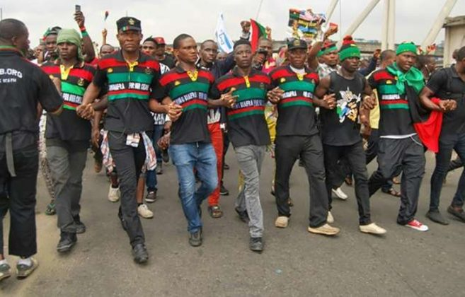 Anyone Who Dares Come Out Tomorrow Will Find It Hot - IPOB