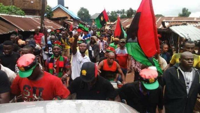 Biafra IPOB Declares War On 'Unknown' Gunmen, Police