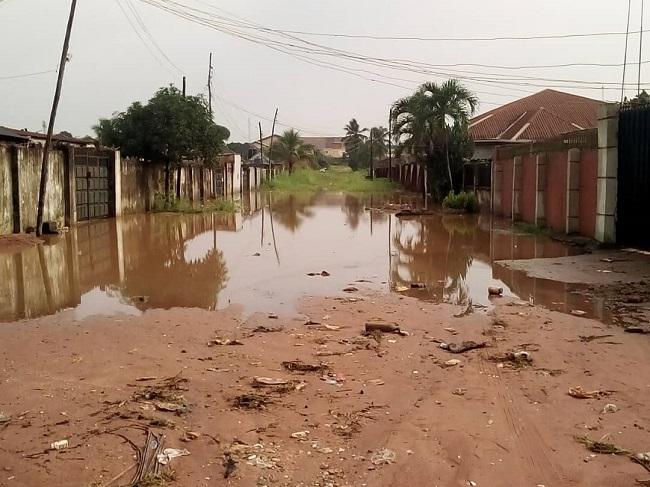 Flood Wreaks Havoc In Imo Community, Residents Abandon Homes