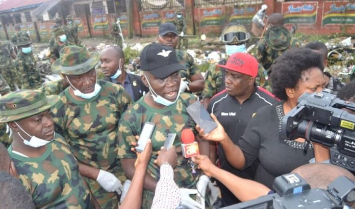 GOC 82 Div Assures Of Adequate Security In South East