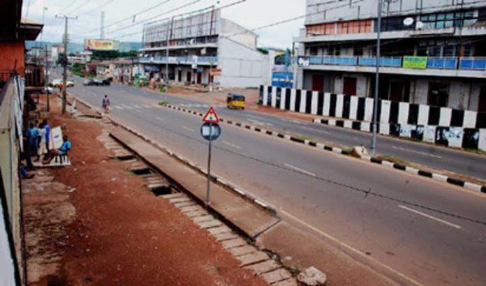 IPOB Sit-At-Home Cripples Activities In Ebonyi