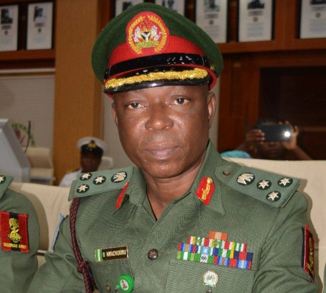 """The Nigerian Army has dismissed allegations by Emeka Okoroafor, a lawmaker in Abia State that military officers were aiding and abetting criminality in Isuikwuato Local Government Area of the State. The Director, Army Public Relations, Brig.-Gen. Onyema Nwachukwu, in a statement in Abuja, warned the lawmaker to desist from such blackmail. Nwachukwu said that the assembly member representing Isuikwuato constituency of Abia had alleged that when security agents arrested suspected kidnappers of Abia State University lecturers, a certain call came from a high military formation ordering their release. """"Much as we do not want to join issues with the insinuators, it is crucial to set the record straight. """"If truly the claims in the said report emanated from the lawmaker, then we must state without mincing words that they are not only unfounded but a travesty of facts and reality. """"The claim is completely devoid of truth. It is most unfair for anyone at that height of the social ladder to sponsor a smear campaign against the Nigerian Army for whatever reason; particularly knowing that he has access to the leadership of the military. """"Contrary to the narrative being peddled in the said report, it took the gallantry of our men on patrol to rescue the victims of the said kidnap incident before handing them over to the police."""""""