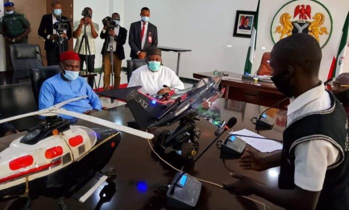 Ugwuanyi Offers Scholarships To Young Inventors Of Aircraft