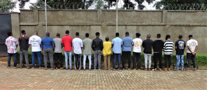EFCC Nab 28 Suspected Internet Fraudsters In Anambra, Enugu