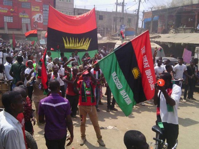 IPOB Orders Sit-At-Home On October 1, Removal Of All Nigerian Flags