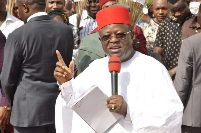 IPOB's Sit-At-Home Has Been Hijacked By Criminals – Umahi