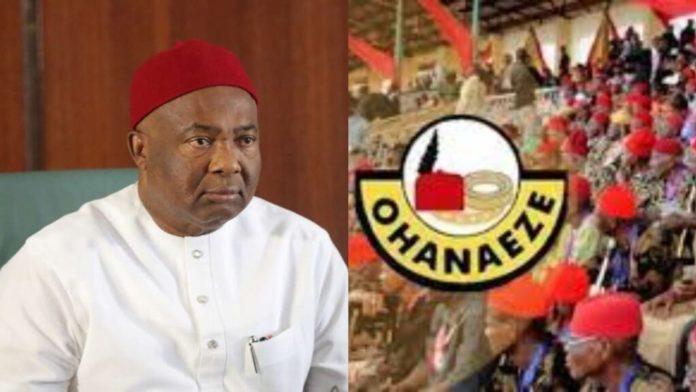 Igbo Presidency Uzodinma A Traitor – Ohanaeze