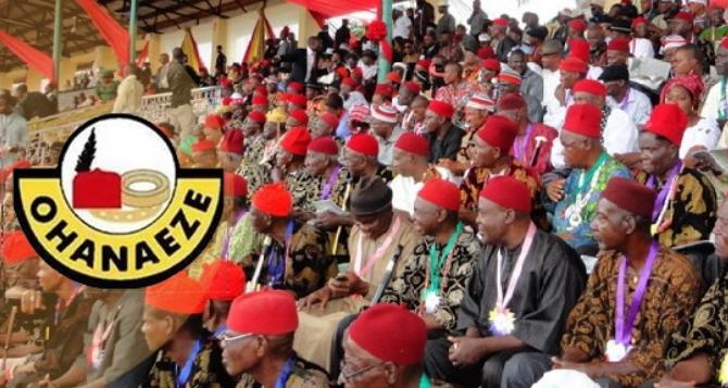 Ohanaeze Sets September 29 As Igbo Day