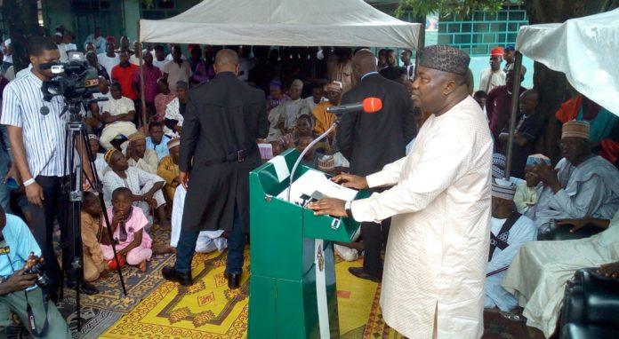 Ugwuanyi Hands Over Two Rebuilt Mosques To Muslims In Nsukka