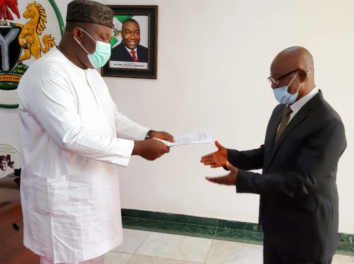 Ugwuanyi Swears In Justice Ozoemena As Acting Chief Judge