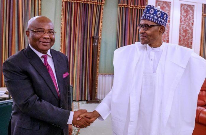 Uzodinma's Vision Align With Mine – Buhari