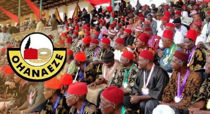 We Reject Anarchy In Igboland – Ohanaeze